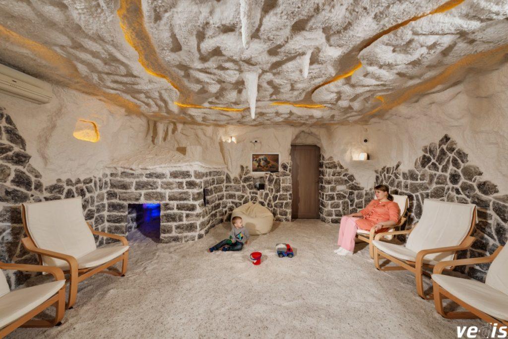 Одна з найякісніших соляних кімнат в Києві