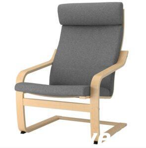 Кресло взрослое улучшенное (цвет серый)